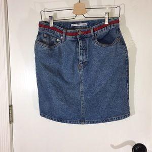 Tommy Hilfiger Jean Skirt Size 10